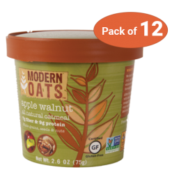 Modern Oats Apple Walnut, pack of 12