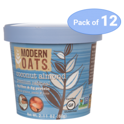 Modern Oats Coconut Almond, pack of 12