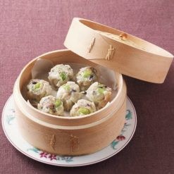 Shumai dumpling with Edamame (green soybeans) and mixed grains buy now