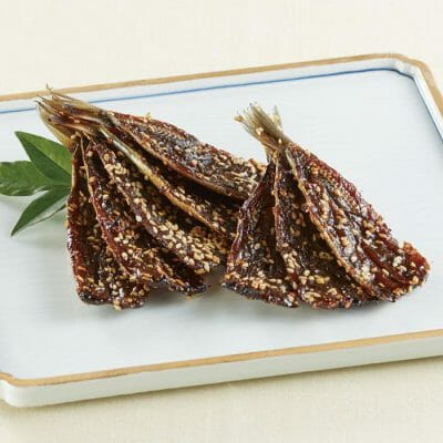 Dried sardines flavored with mirin online