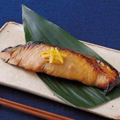 "Cold Japanese Spanish mackerel marinated in traditional Japanese ""yuzuan"" style with sweet yuzu citrus online"