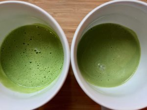 Chinese vs Japanese matcha powder