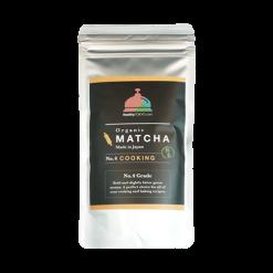 organic matcha cooking