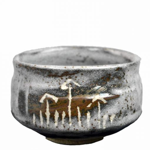 Silver Shadows tea bowl