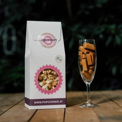 Organic and Vegan Popcorn Toffee 4 Pack