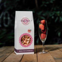 Organic and Vegan Popcorn Strawberry Fields 4 Pack
