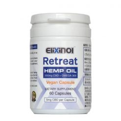 CBD Capsules with Omega 3-6-9 vegan