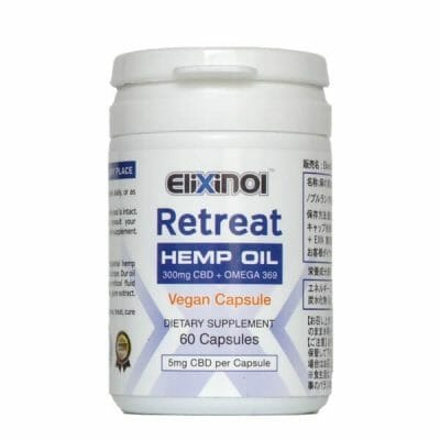 CBD Capsules with Omega 3-6-9 vegan