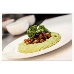 Organic Kale Powder from Denmark in cuisine