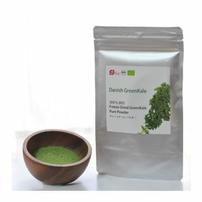 Organic Kale Powder from Denmark bag