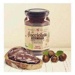 Nocciolata's organic and vegan hazelnut chocolate spread 270gC
