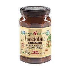 Nocciolata's organic and vegan hazelnut chocolate spread 270gA