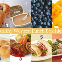 back to school set - healthy lunch box whats included