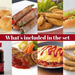 The Grillogy ultimate barbecue set included
