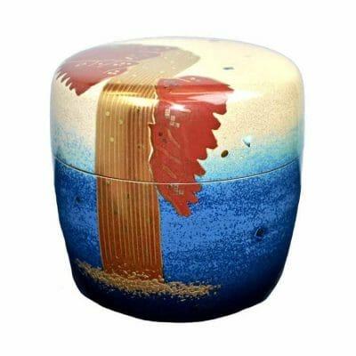 Blue Ocean Tea Canister