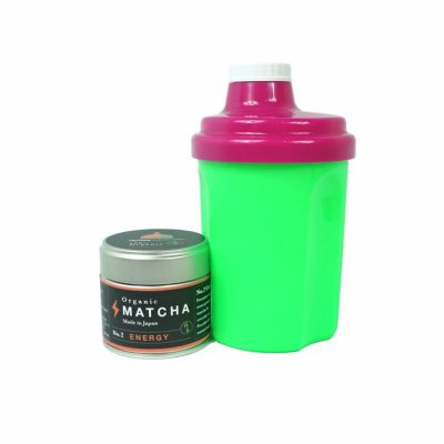 The Energizer - matcha shaker set 1