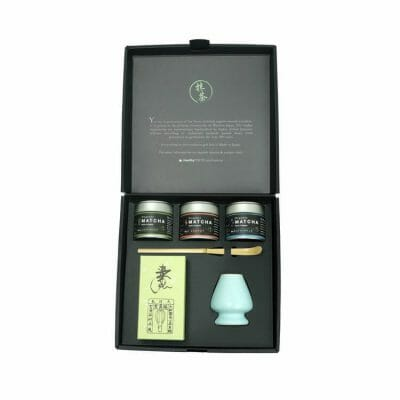 Organic matcha gift set the tea master 4