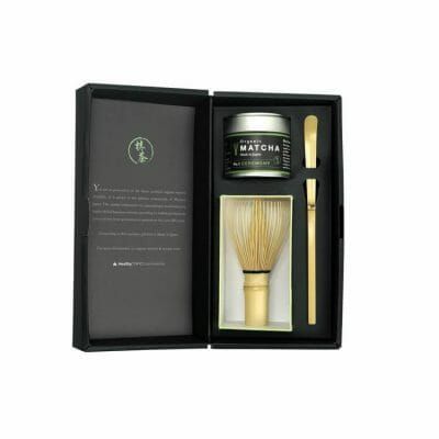 organic matcha gift set the artisan 3