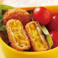 Mini corn croquettes-A
