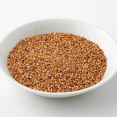Organic roasted golden sesame seeds-A
