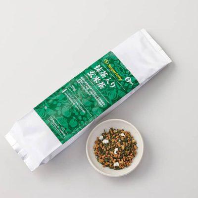 Brown rice tea with Matcha-A