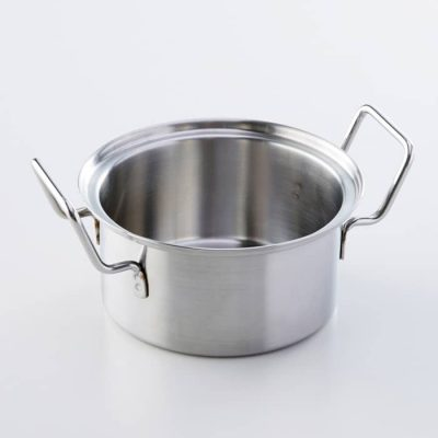Stainless pot for small Chinese steamer-A