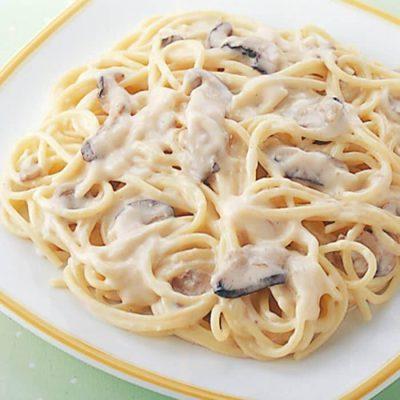 Mushroom cream pasta sauce-A