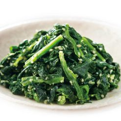 Spinach with sesame sauce-C