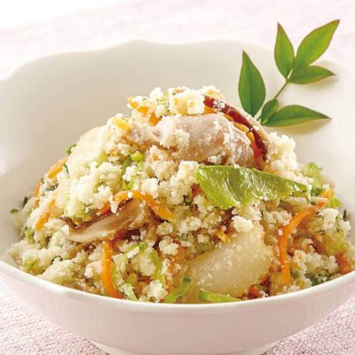 Unohana (sauteed soy pulp with vegetables)-A