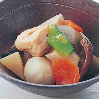 Chikuzen-ni light veggie chicken stew-A