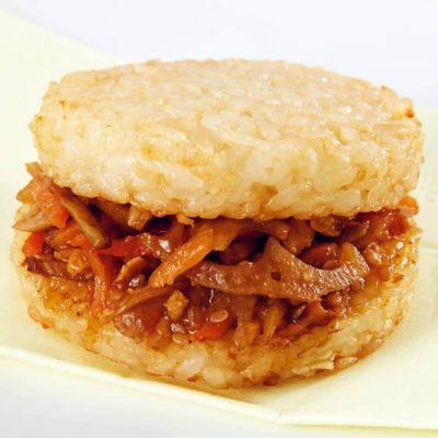 Kinpira rice burger (new)-A