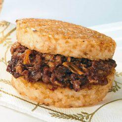 Kalbi rice burger-A