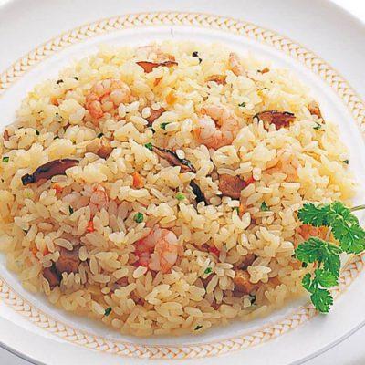 Shrimp Chahan (fried rice)-A