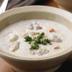 Boston clam chowder-A