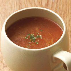 Onion soup with Awaji onions-A
