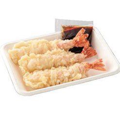 Tempura-fried shrimp and sauce for tendon-B