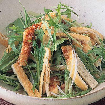 Handmade deep-fried tofu-A