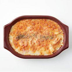Microwaveable Shrimp au Gratin-B