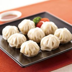 Baozi (steamed meat dumplings)-A