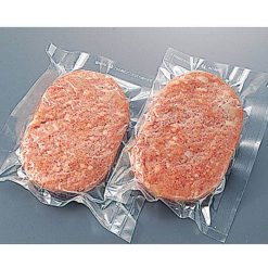 Viva Chef's raw hamburger patties (beef & pork)-B
