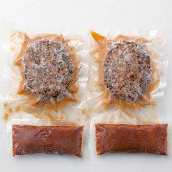 Boiled hamburger (in demi-glace sauce)-C