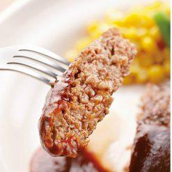 Boiled hamburger (in demi-glace sauce)-B