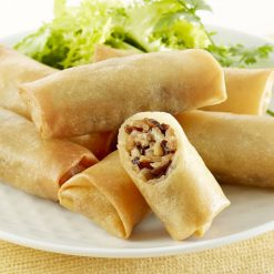 Mini frying pan spring rolls-A