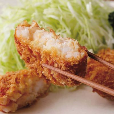 Specialty shrimp cutlets-A