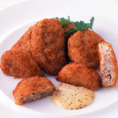 Microwaveable croquette and minced meat cutlet set-A