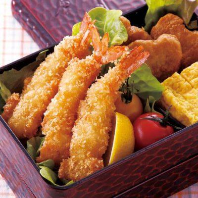 Fried shrimp for bento boxes-A