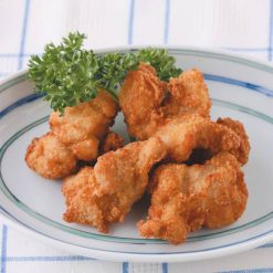 Microwave-ready fried chicken thighs-A