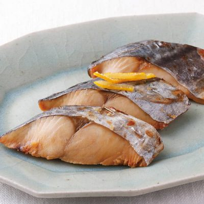 Grilled Spanish mackerel with hint of citron-A