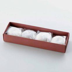 Shio Daifuku (Sweet rice cake with hint of salt and half ground redbean paste)-B