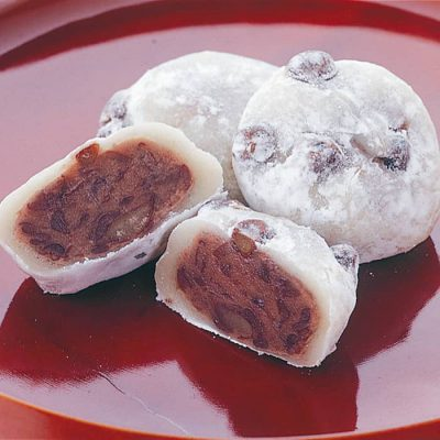 Mame Daifuku (Sweet rice cake with redbean paste)-A